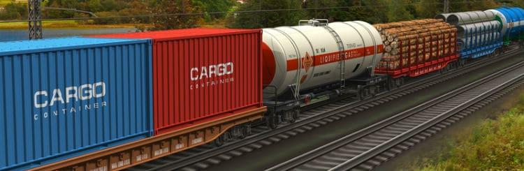 Railway delivery - Железнодорожный транспорт