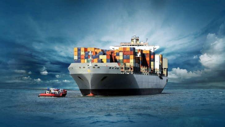 Container delivery via ship - Перевозка контейнеров